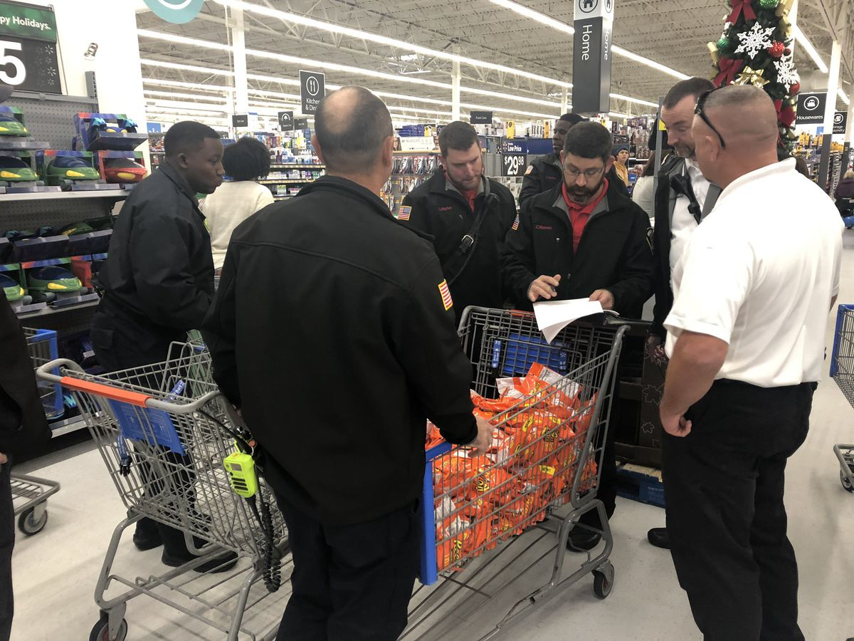 Hattiesburg Fire Department buys toys for kids in need