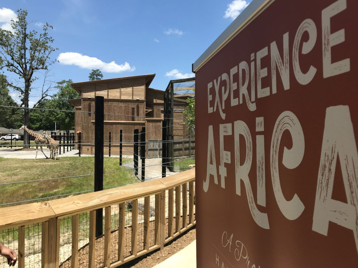 Hattiesburg Zoo officially opens expanded Africa exhibit