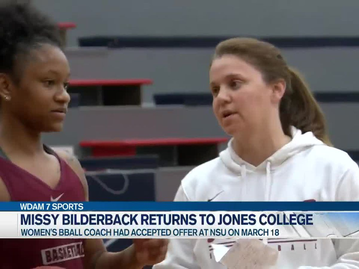 Missy Bilderback stays put at Jones College