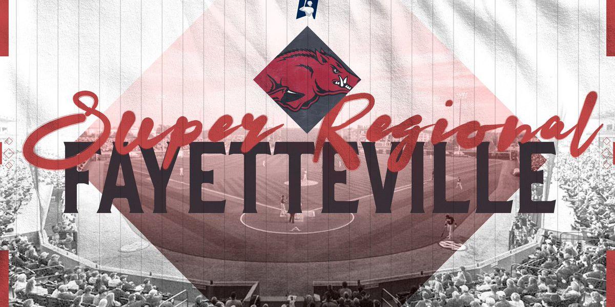 NCAA Fayetteville Super Regional schedule set