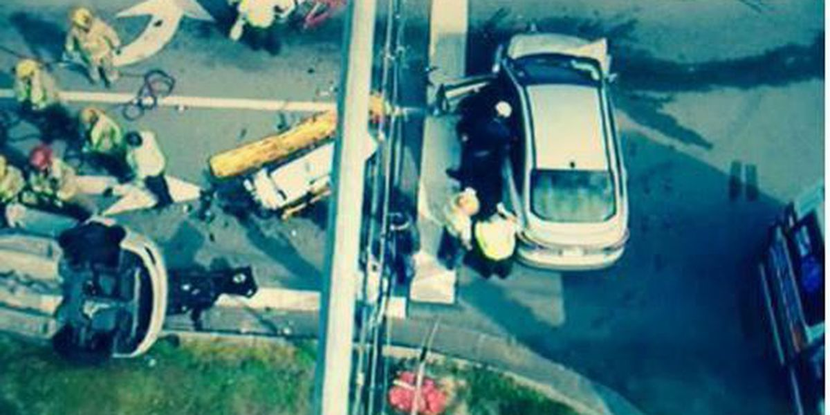 TRAFFIC ALERT: Roll-over accident at Hwy 49 and WSF Tatum