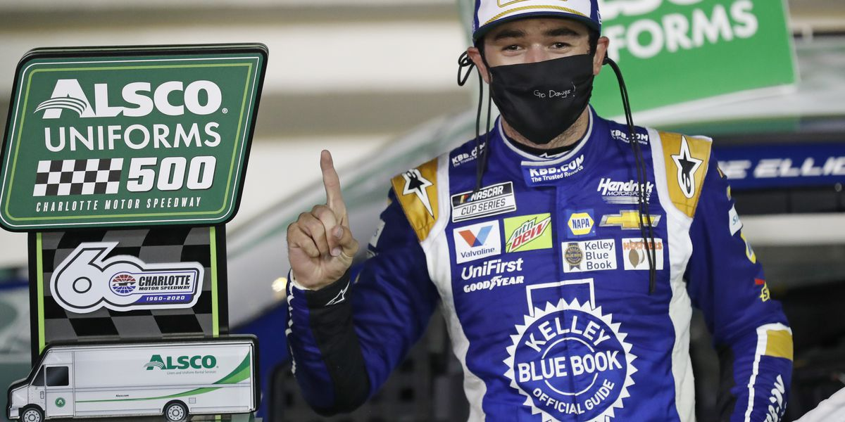 Chase Elliott ends week of misery with overdue Cup victory