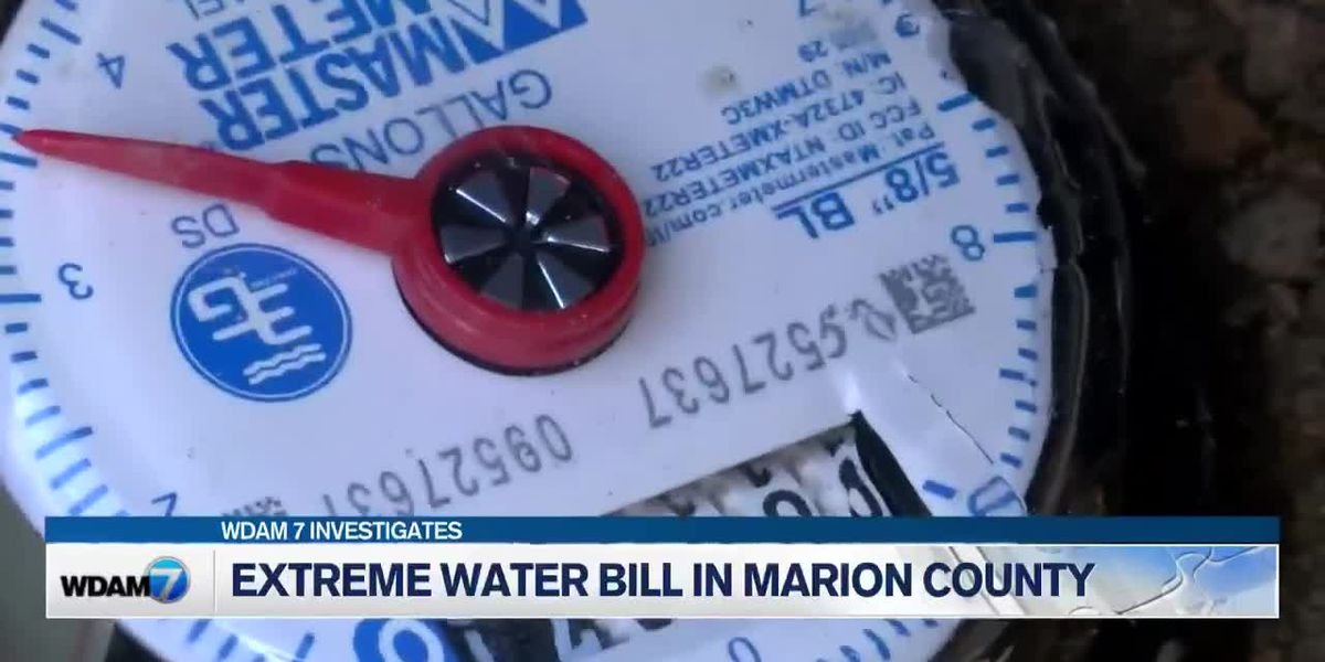 Marion Co. family speaks out after water bill hits $800