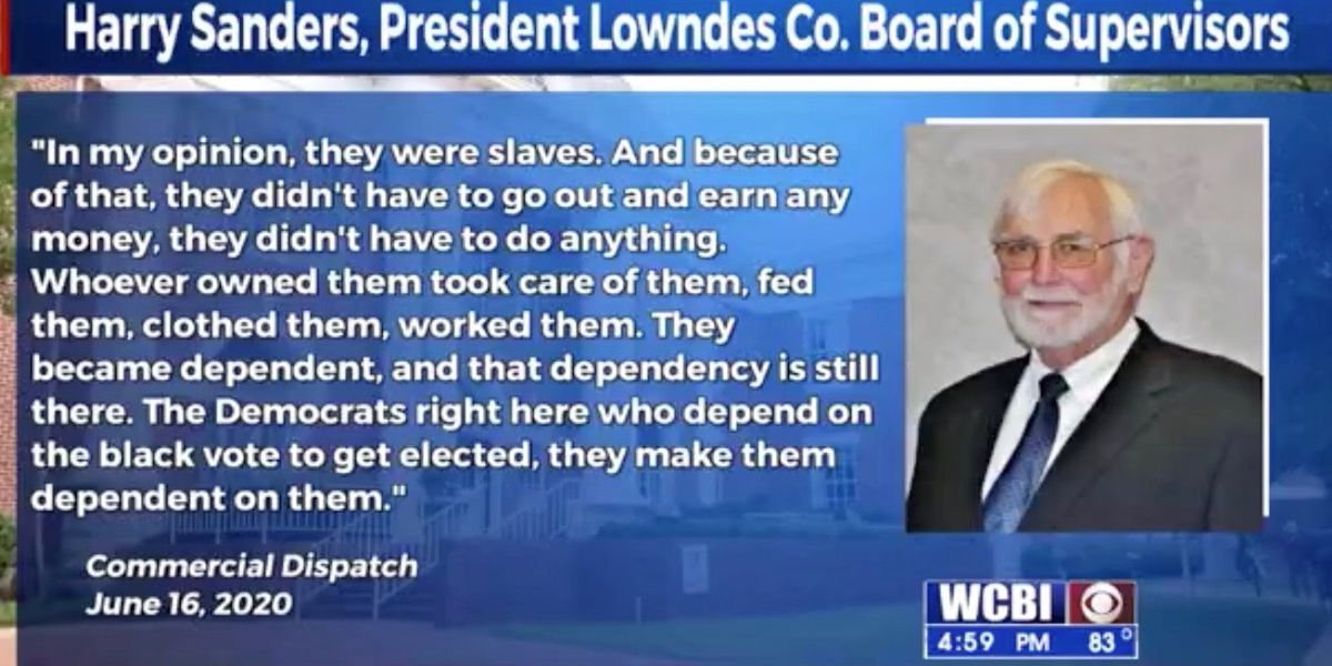 Insensitive racial comments put spotlight on Lowndes Co. Board President