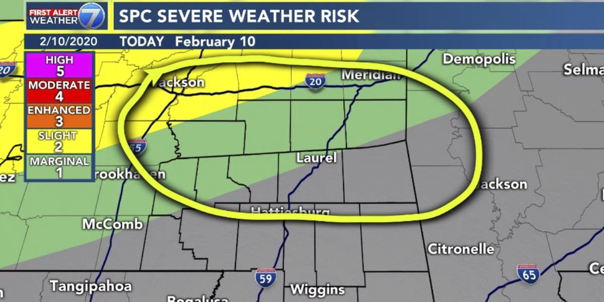 First Alert: Increasing chances for storms Monday night, some severe