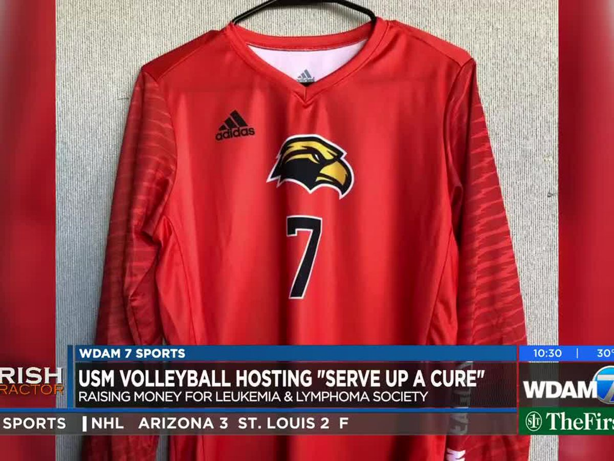 USM volleyball raises money for Leukemia & Lymphoma Society