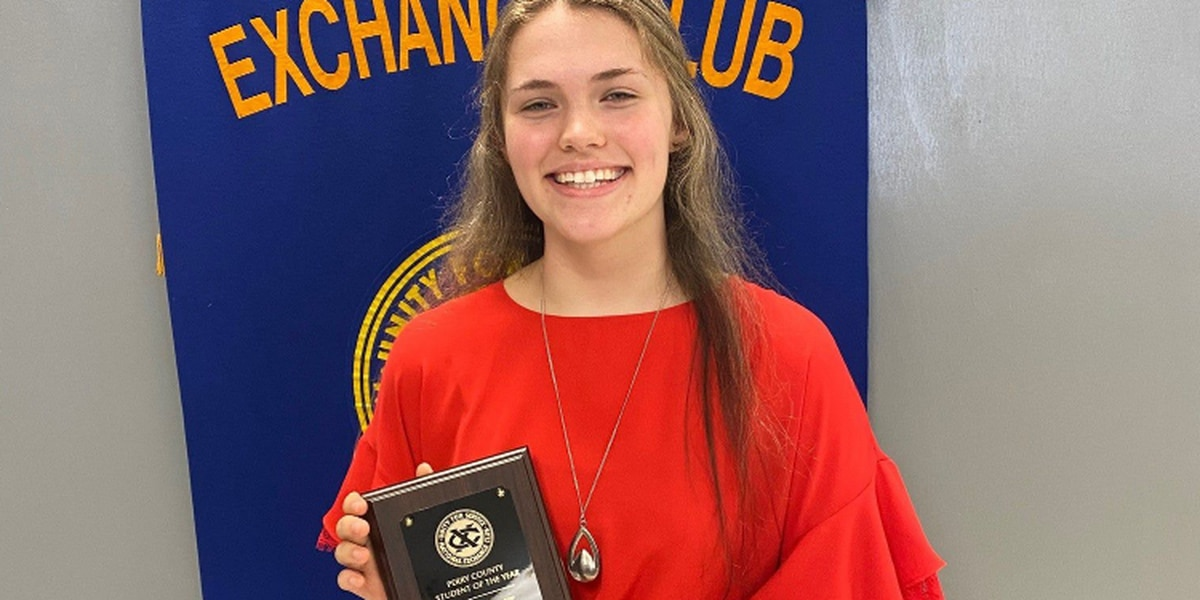 Perry Central senior earns National Exchange Club's Student of Year