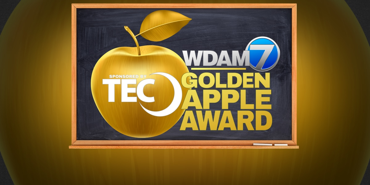 Laurel School District psychometrist wins TEC, WDAM 7 Golden Apple Award