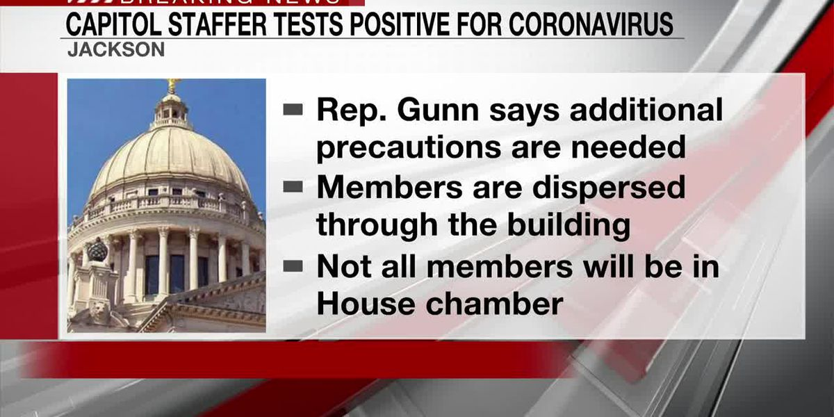 Capitol staffer tests positive for coronavirus; lawmakers taking precautions