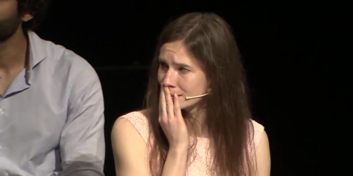 Amanda Knox speaks out against 'trial by media' at Italian criminal justice forum
