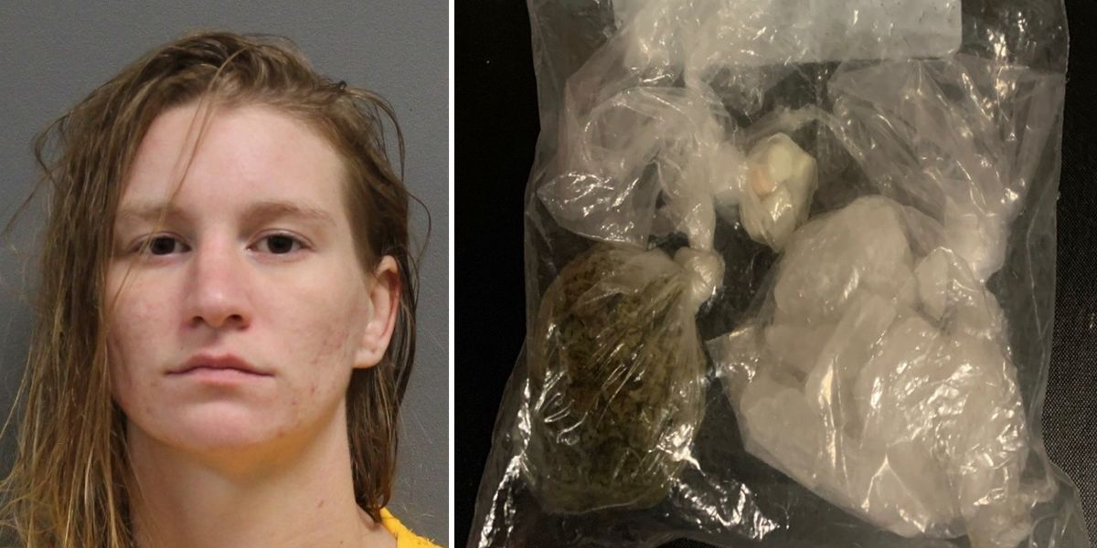 Petal woman arrested on felony drug charges