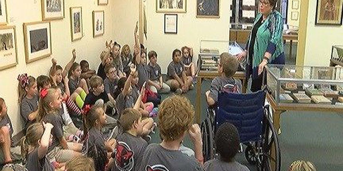 Petal third graders check out college life at USM