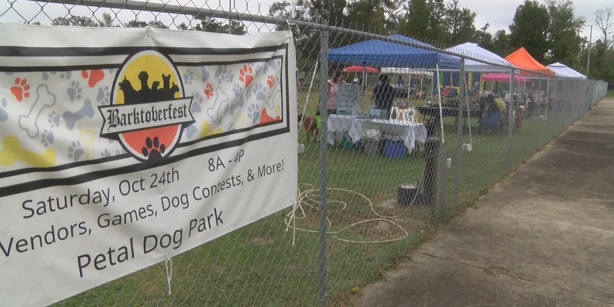Barktoberfest raises money for Petal Dog Park