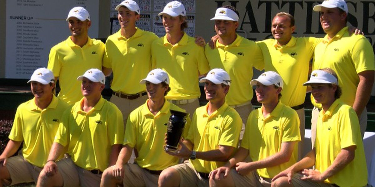 USM men's golf wins first tournament since 2014