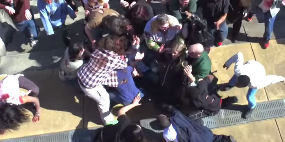 VIDEO: Hilarious Zombie Prank will leave you in stitches