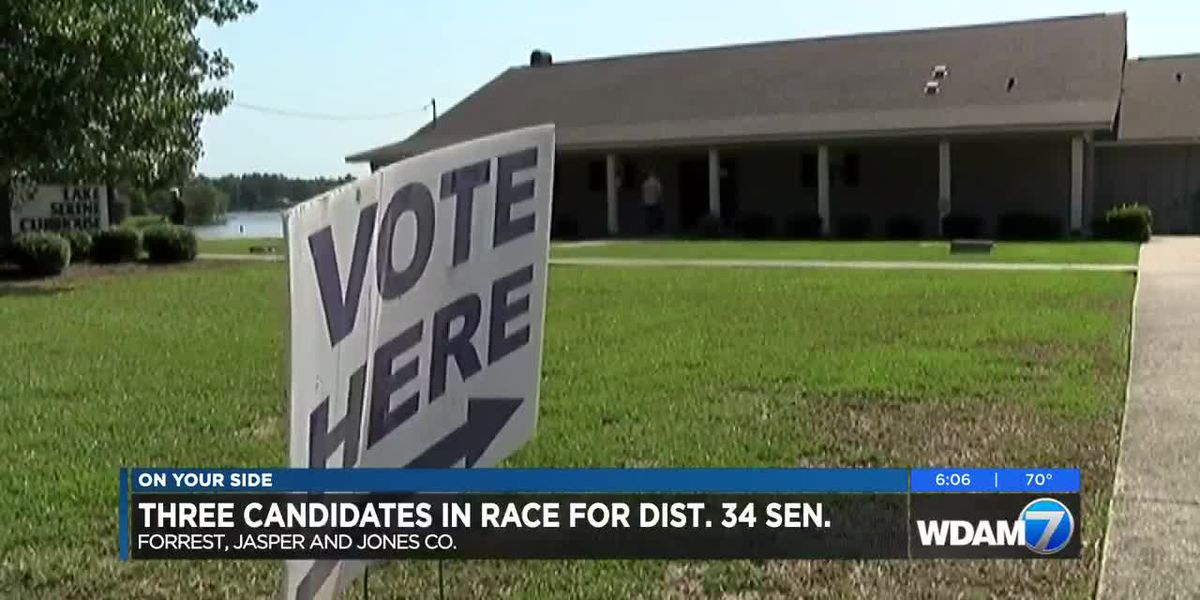 Three candidates running for senator of district 34