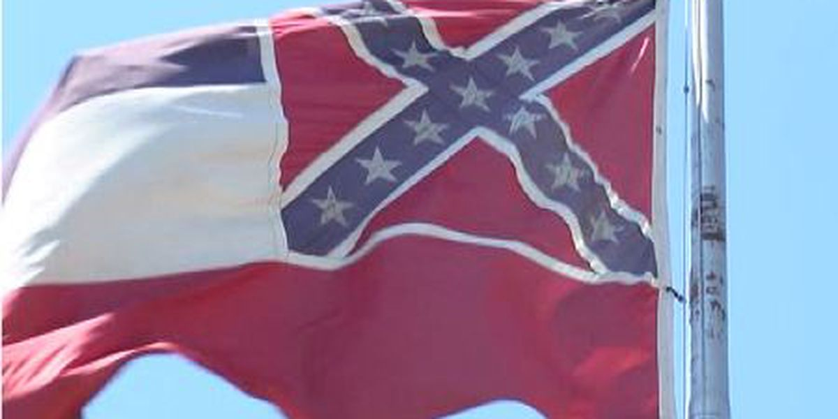 "Miss. actress says retired flag means ""it's a better day"" for state"