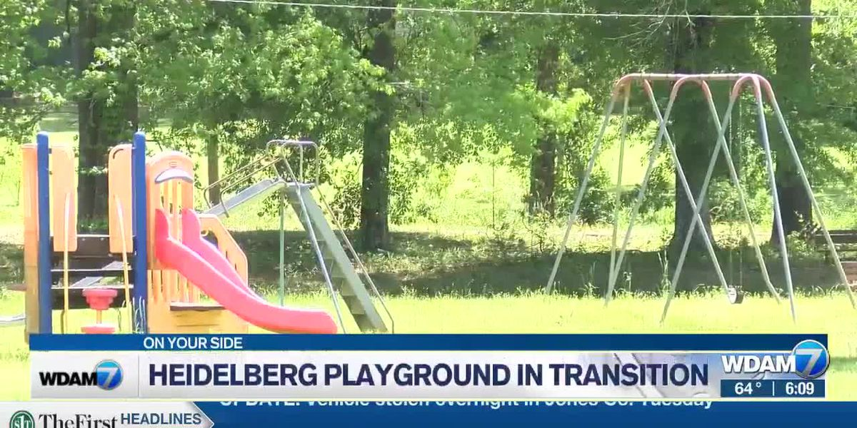 Heidelberg moving playgroud due to flooding