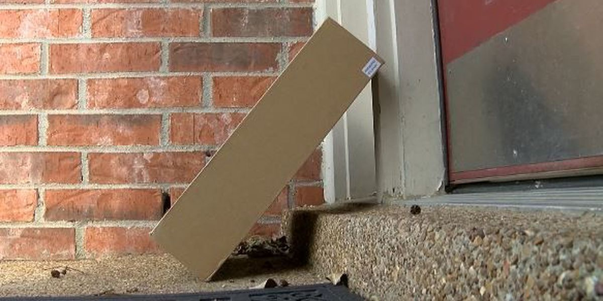 Porch pirates on the prowl this holiday season