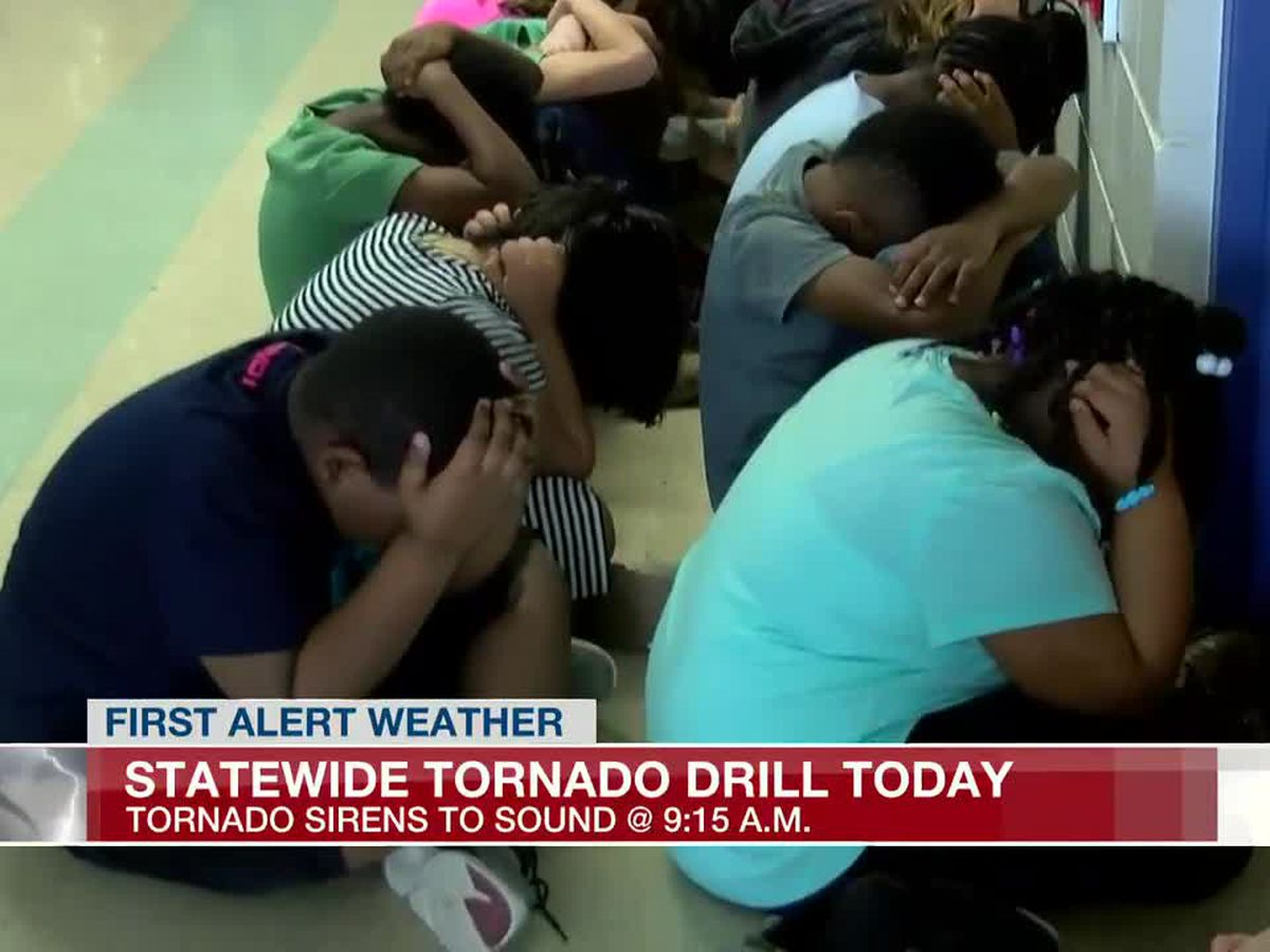 NWS hosts statewide tornado drill on Wednesday