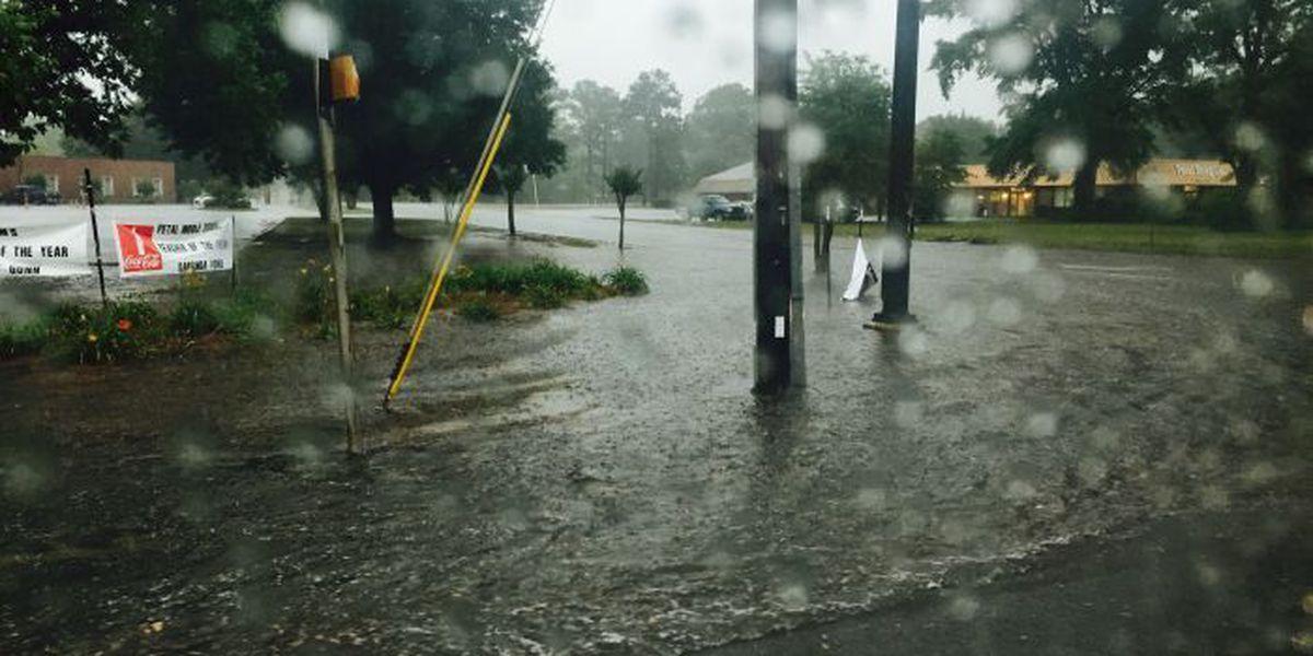 WARNING: Flooding in Petal creates road hazards