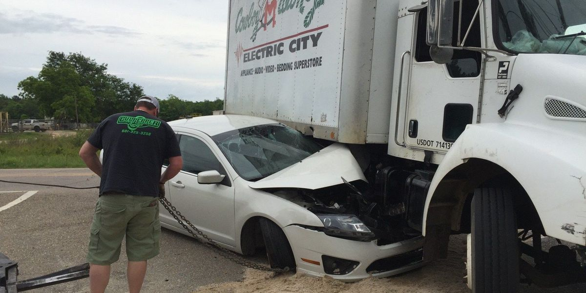 Five walk away from serious accident unscathed