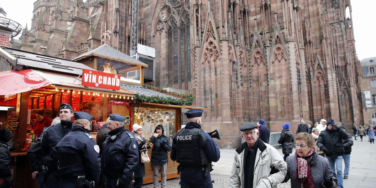 Prosecutor: 7 held in Strasbourg shooting investigation