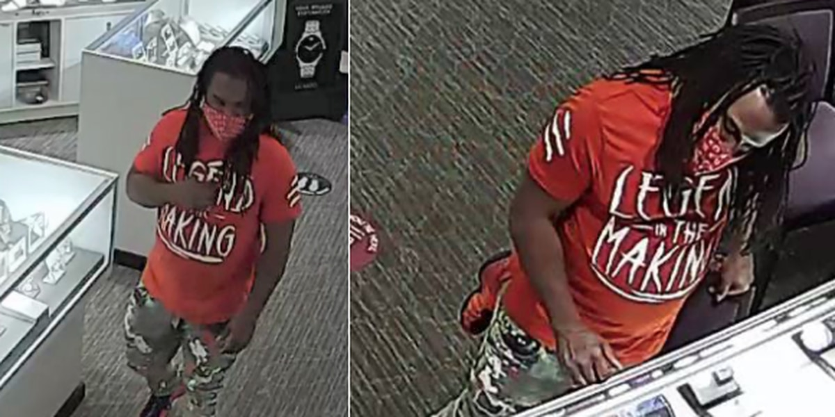 Hattiesburg police asking for help identifying person wanted in jewelry theft