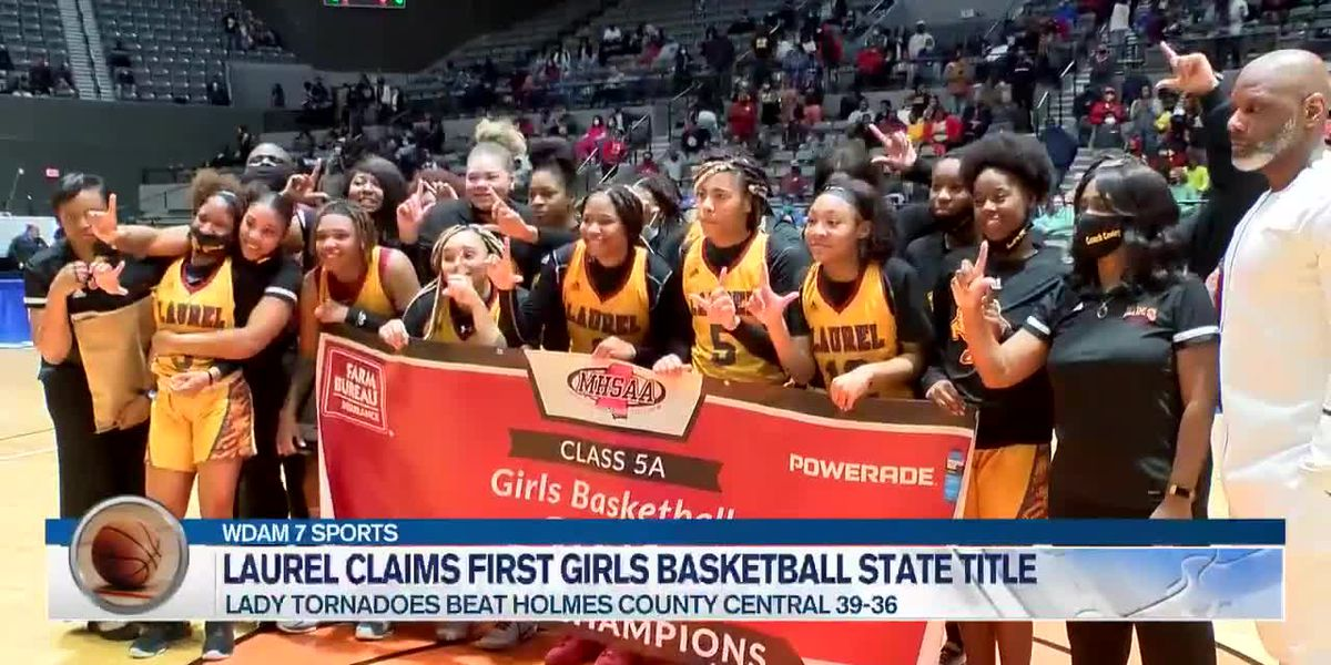 Laurel girls claim first state crown in program history