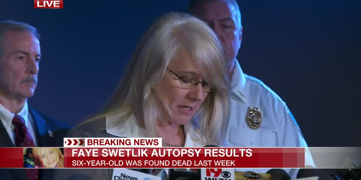 Officials hold press conference to provide updates on death of Faye Swetlik
