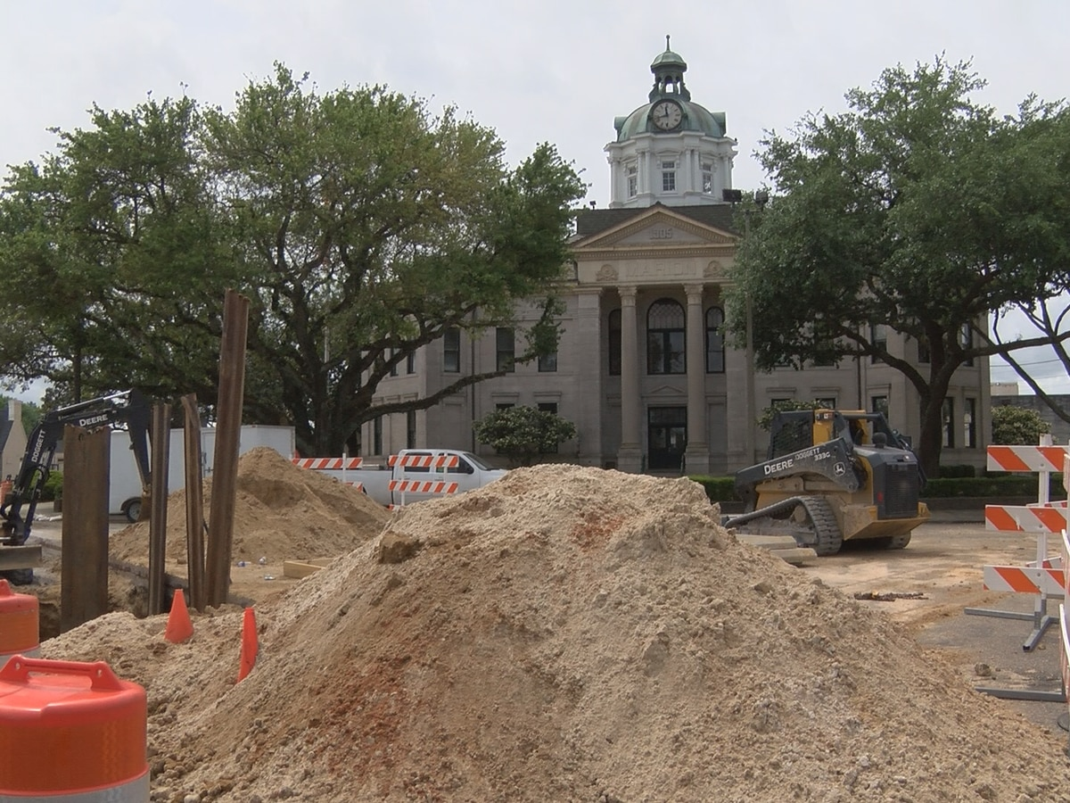 Major sewer line project underway in downtown Columbia
