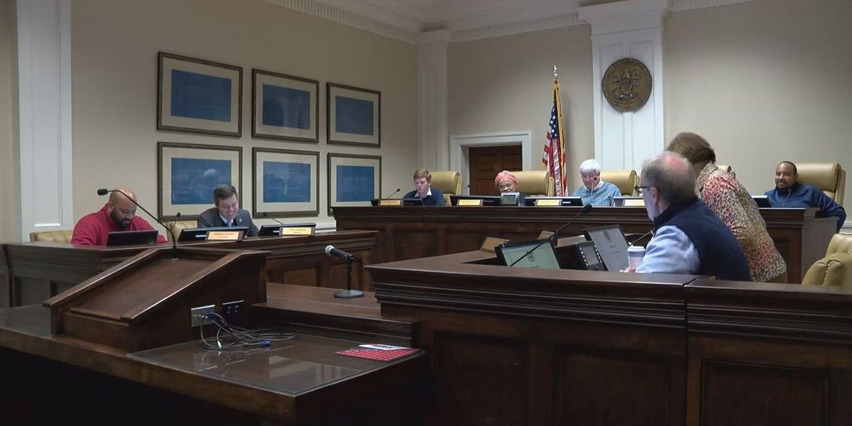 Hattiesburg City Council holds special meeting