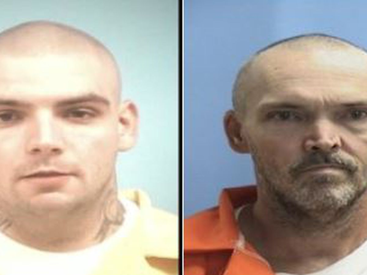 2 inmates missing from county work center in Mississippi