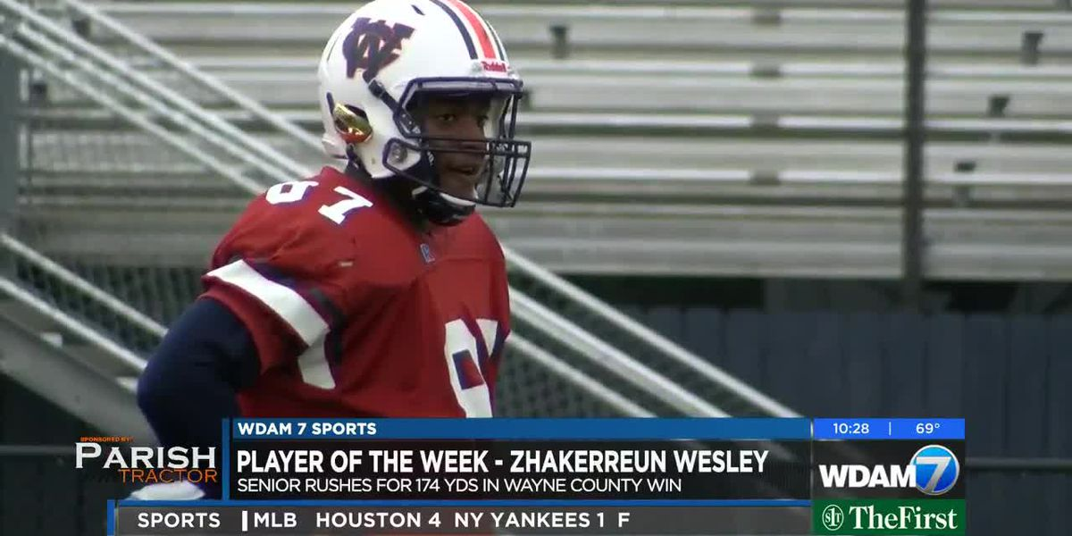 "Player of the Week - Zhakerreun ""Phat"" Wesley"