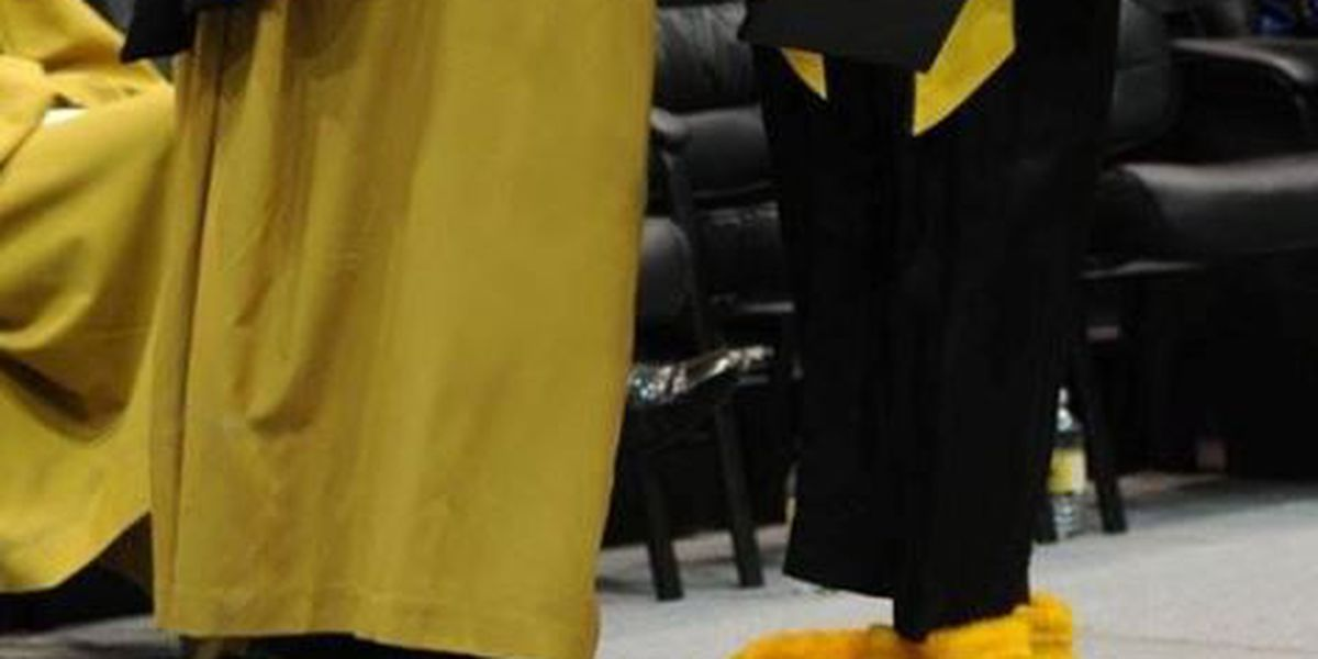 Seymour reveals identity at USM commencement