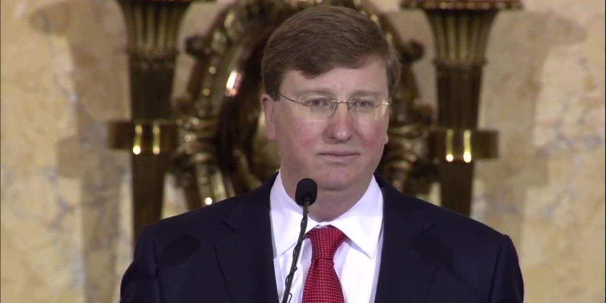 WATCH: Gov. Reeves delivers his first State of State address