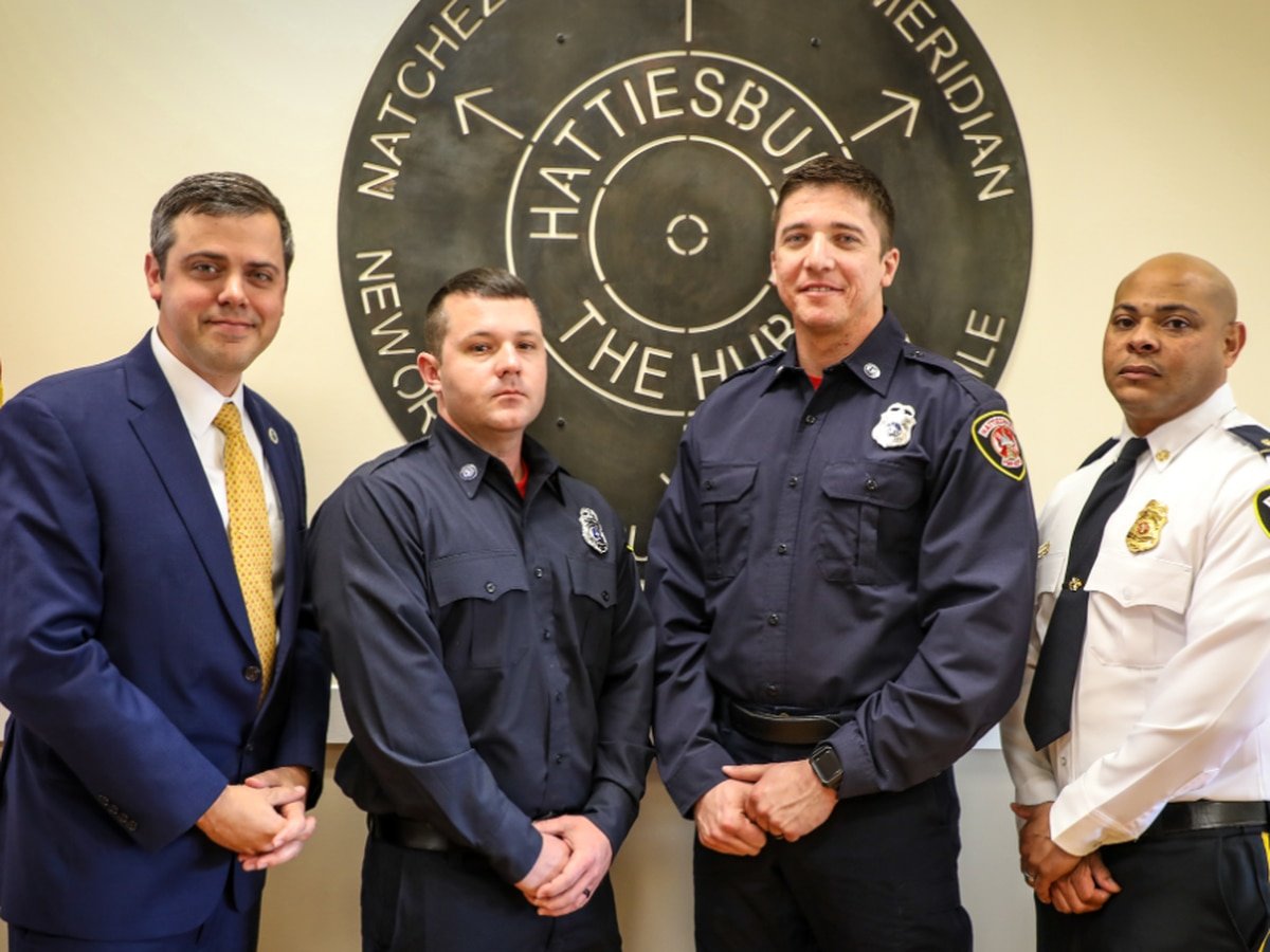 Hattiesburg Fire Dept. now fully staffed with two additions