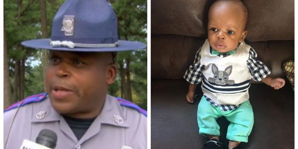 'I'm not a hero' Mississippi state trooper jumps into action to save a baby in distress