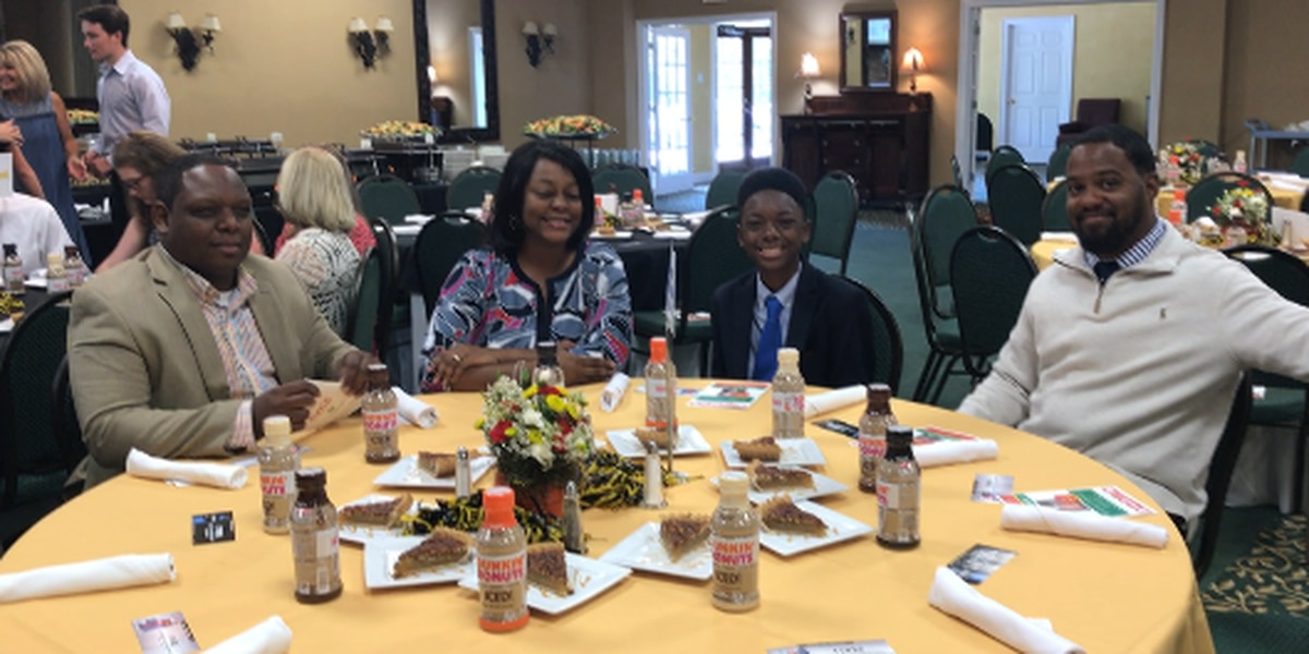 Forrest and Lamar County student athletes celebrated