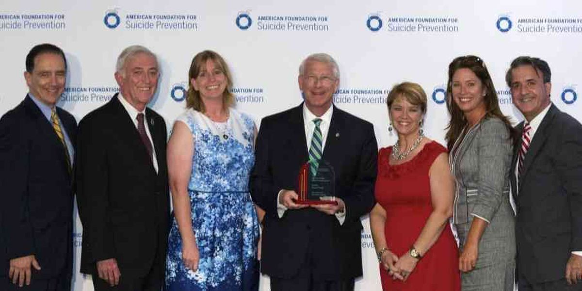 American Foundation for Suicide Prevention honors Sen. Wicker for exceptional service