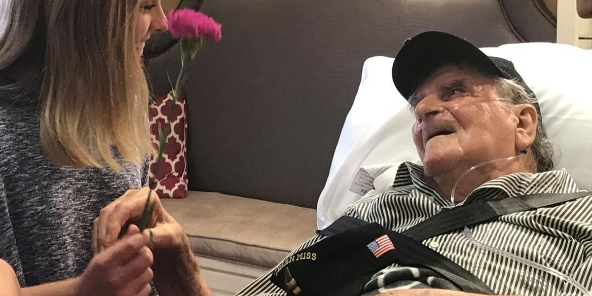 Southern Miss sorority saves the last dance for WWII veteran