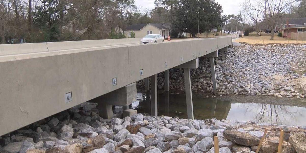 Broad Street bridge in Hattiesburg reopens