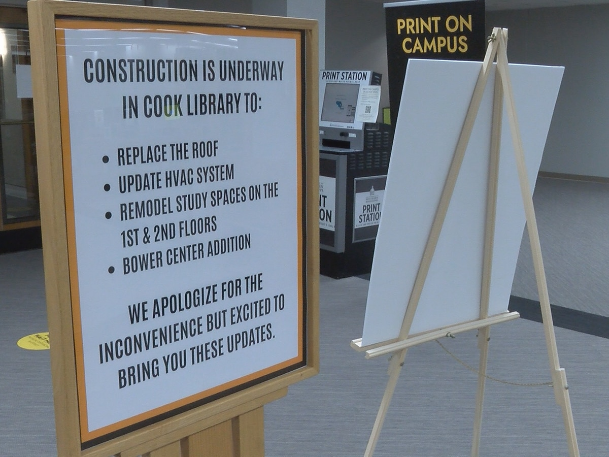 Renovation work at USM's Cook Library nearing completion