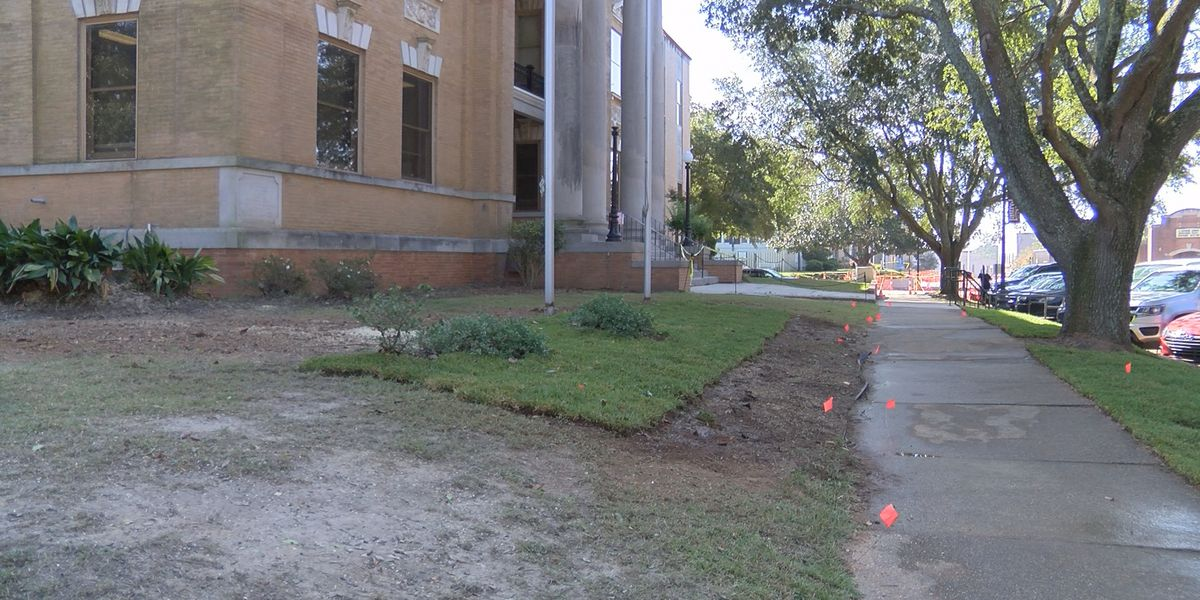 Jones County continues with courthouse beautification project