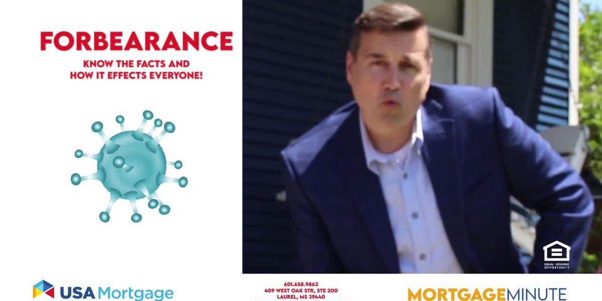 USA Mortgage Minute: Mortgage apps and forbearance