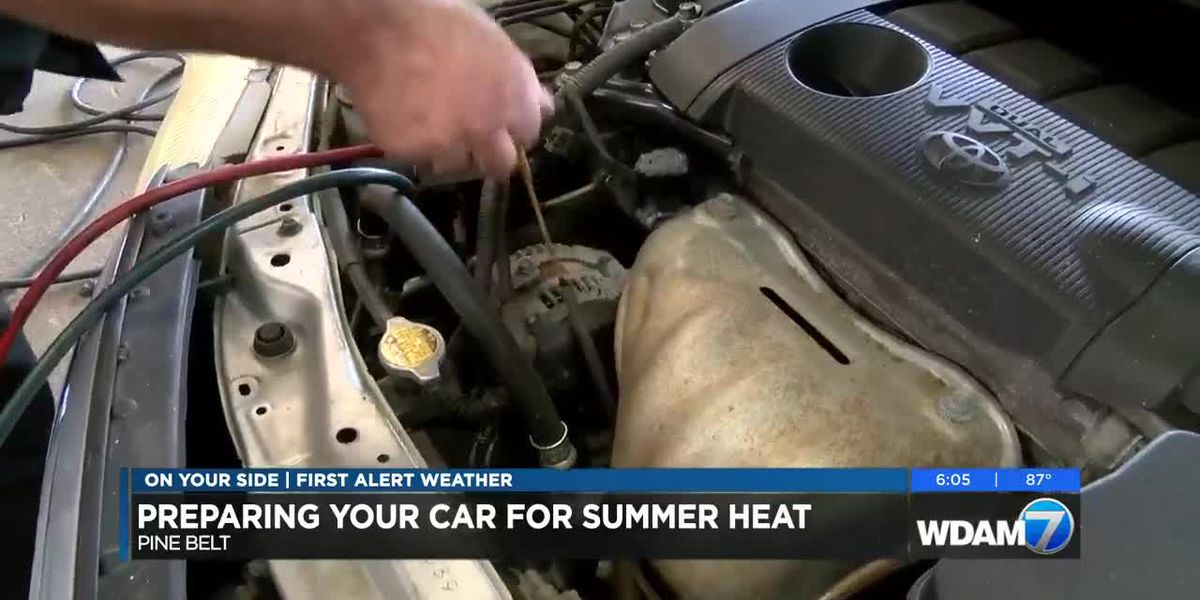 Preparing your vehicles for summer heat