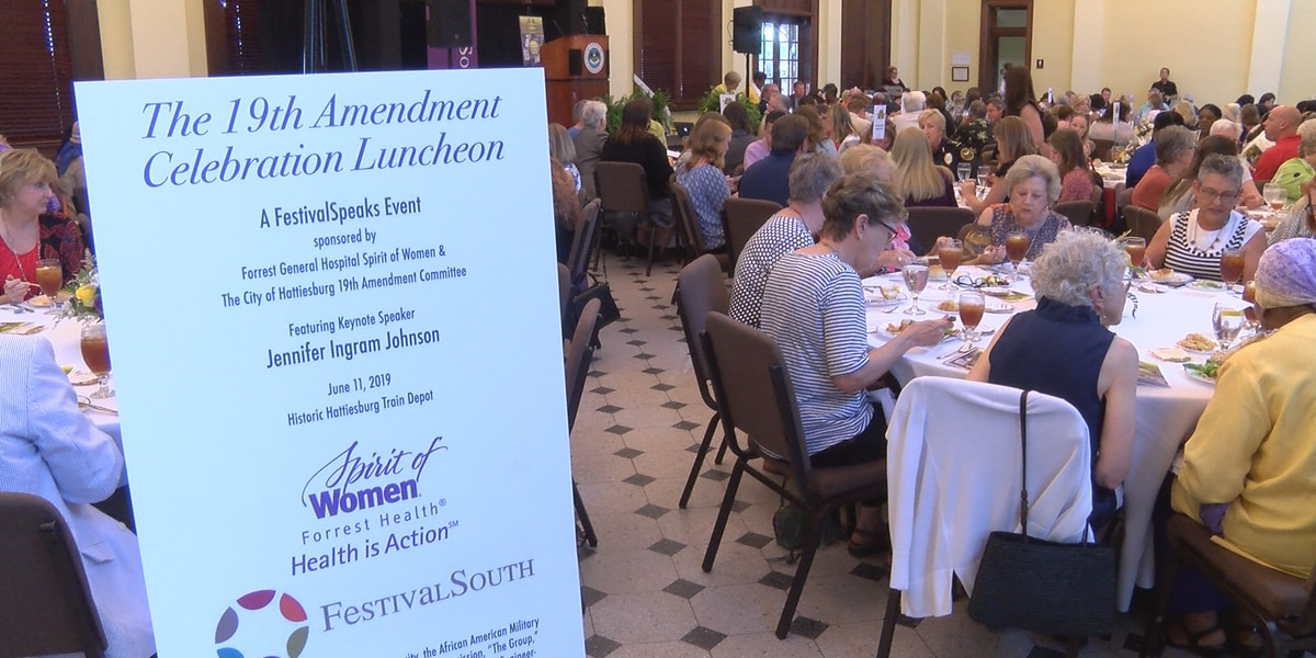 Hattiesburg area begins year-long 19th Amendment celebration