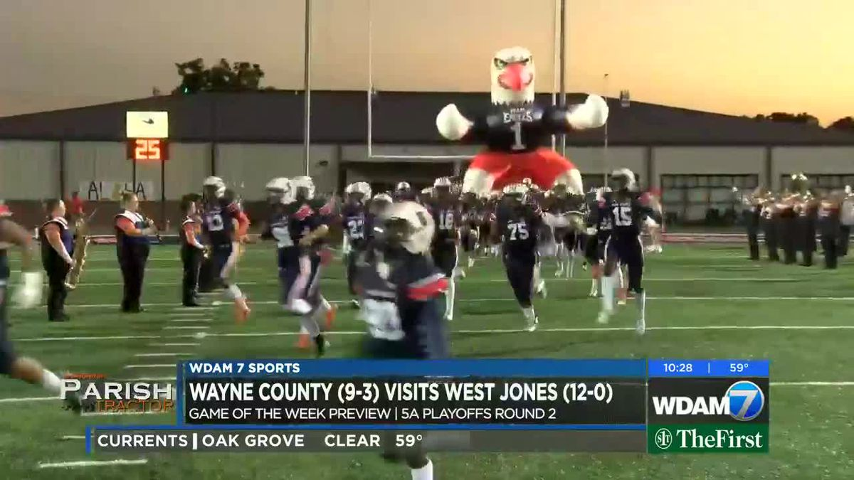 Game of the Week Preview: Wayne County at West Jones