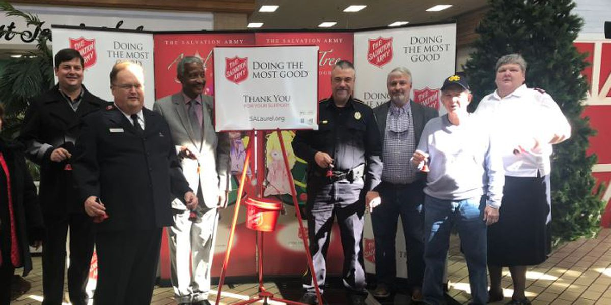 Laurel Salvation Army launches Red Kettle, Angel Tree campaigns