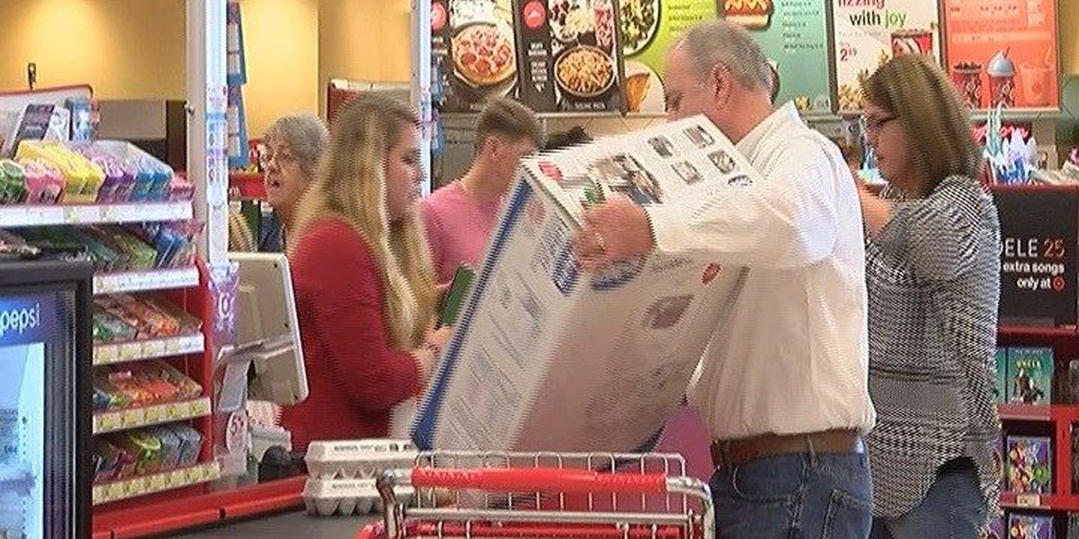 Stores prepare for Black Friday rush